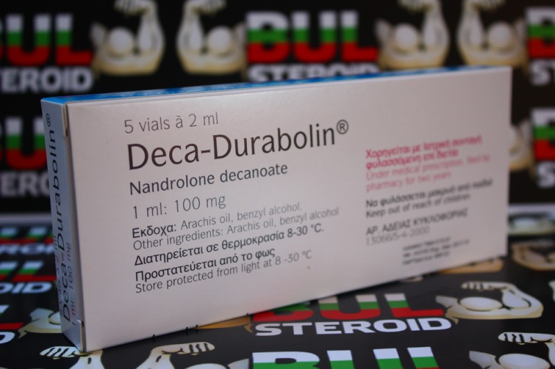 DECA-DURABOLIN Organon Holland 2ml 1ml/100mg