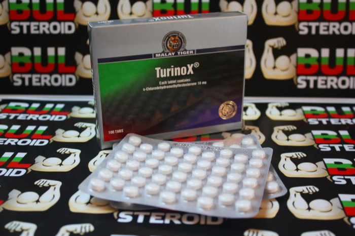 Turinox 100tab/10mg Malay Tiger