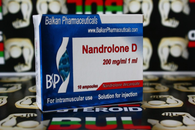 Nandrolone D Balkan Pharmaceuticals Дека 10 ампули