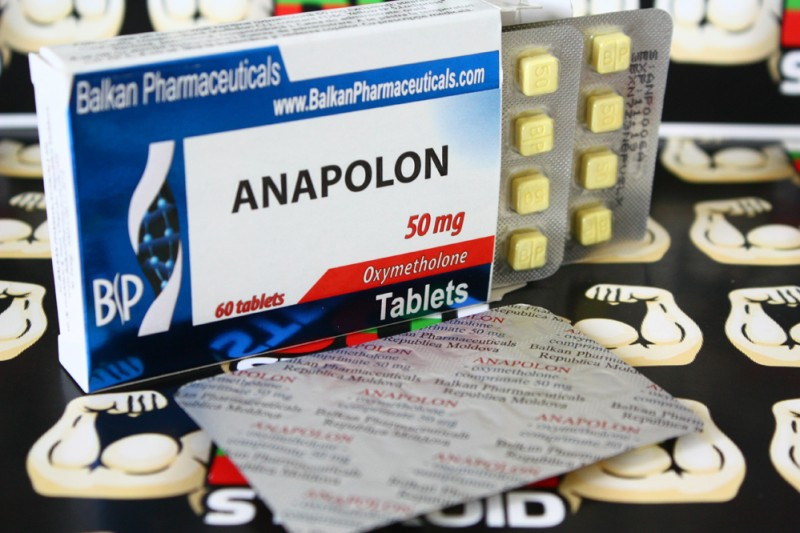 Anapolon 60tab/50mg Balkan Pharma