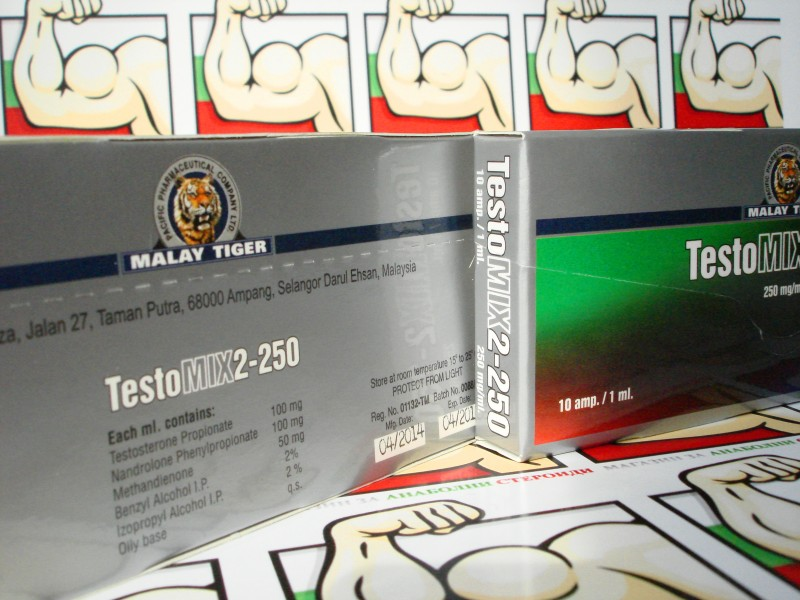 Testomix 2 10amp/250mg Malay Tiger
